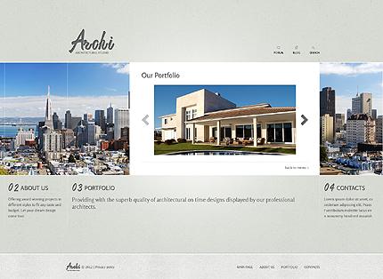 Template 37331 ( Portfolio Page ) ADOBE Photoshop Screenshot