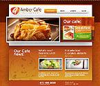 Food & Drink Website  Template 37346