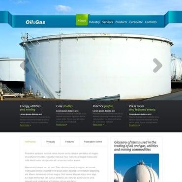 gas oil website template 37348 by wt website templates. Black Bedroom Furniture Sets. Home Design Ideas