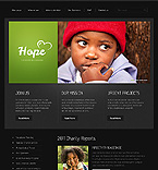 Charity Website  Template 37350