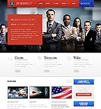 Politics Website  Template 37353