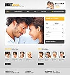 Dating Website  Template 37354