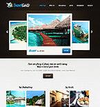 Travel Website  Template 37355