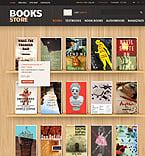 Books PrestaShop Template 37364