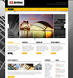 Architecture Website  Template 37379