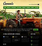Agriculture Website  Template 37389