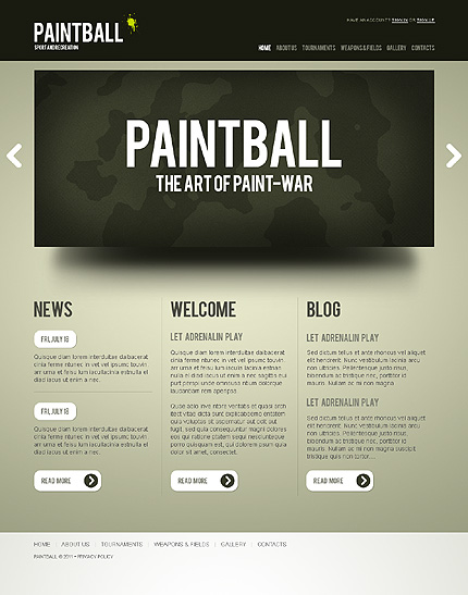 Joomla Theme/Template 37397 Main Page Screenshot