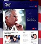 Politics Website  Template 37405