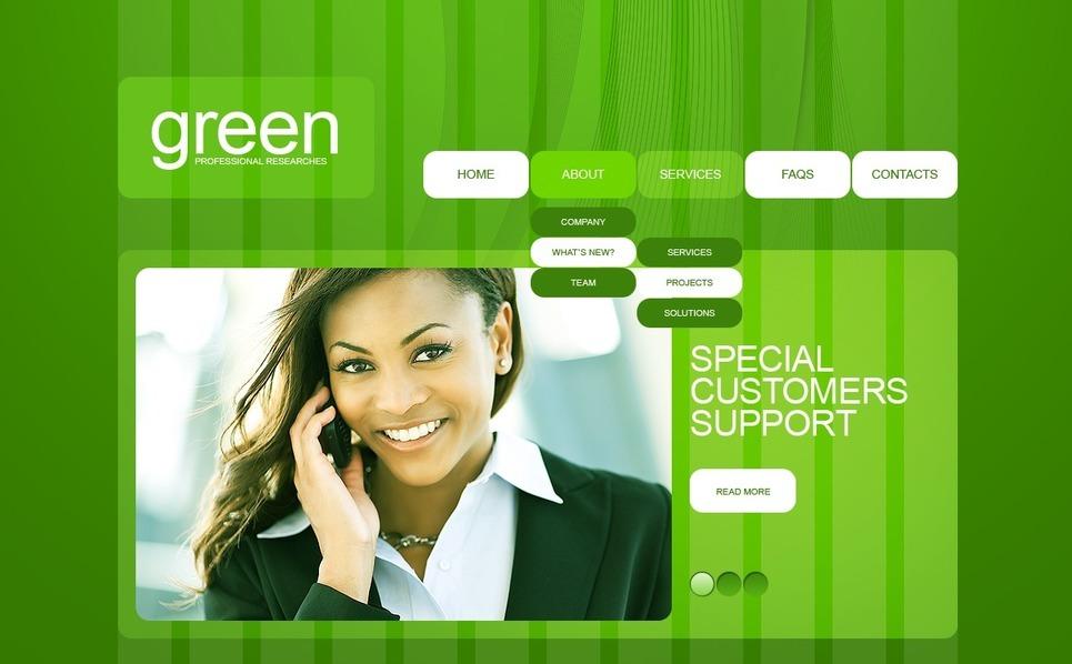 咨询公司网页网页模板 New Screenshots BIG