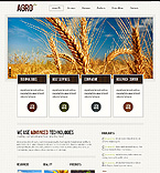 Agriculture Website  Template 37412