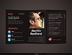 Personal Page Flash CMS  Template 37422