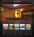 Real Estate Flash CMS  Template 37423