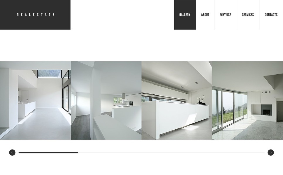 Plantilla Flash CMS #37425 para Sitio de Agencia inmobiliaria New Screenshots BIG