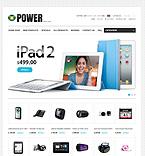 Electronics ZenCart  Template 37429