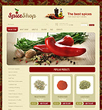 Food & Drink VirtueMart  Template 37436