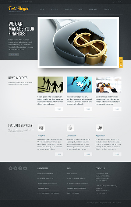 Drupal Template 37439 Main Page Screenshot