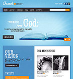 Religious Website  Template 37459