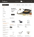 Furniture osCommerce  Template 37484