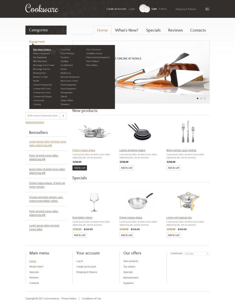 oscommerce vorlage 37484 f r haushaltswaren. Black Bedroom Furniture Sets. Home Design Ideas