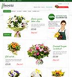 Flowers PrestaShop Template 37488