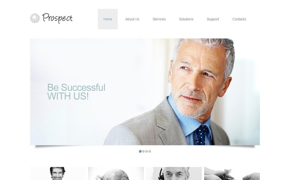 Template Photoshop  para Sites de Consultoria №37490 New Screenshots BIG
