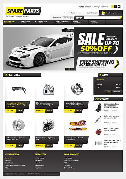 ADOBE Photoshop Template 37492 Home Page Screenshot