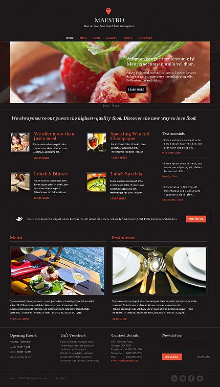Drupal Template 37498 Main Page Screenshot