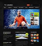 Media Website  Template 37505