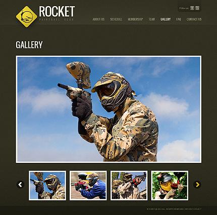 Template 37522 ( FAQ Page ) ADOBE Photoshop Screenshot