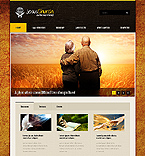 Religious Website  Template 37525