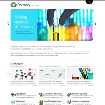 science web templates website templates