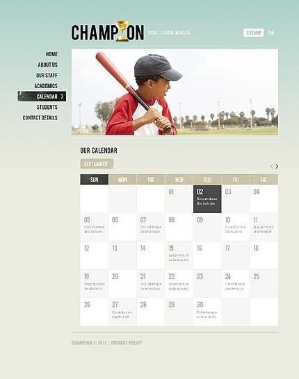 Template 37530 ( Calendar Page ) ADOBE Photoshop Screenshot