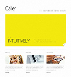 Communications Website  Template 37531