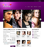 Dating Website  Template 37534