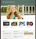 Education Website  Template 37590