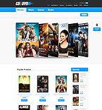 Entertainment ZenCart  Template 37599