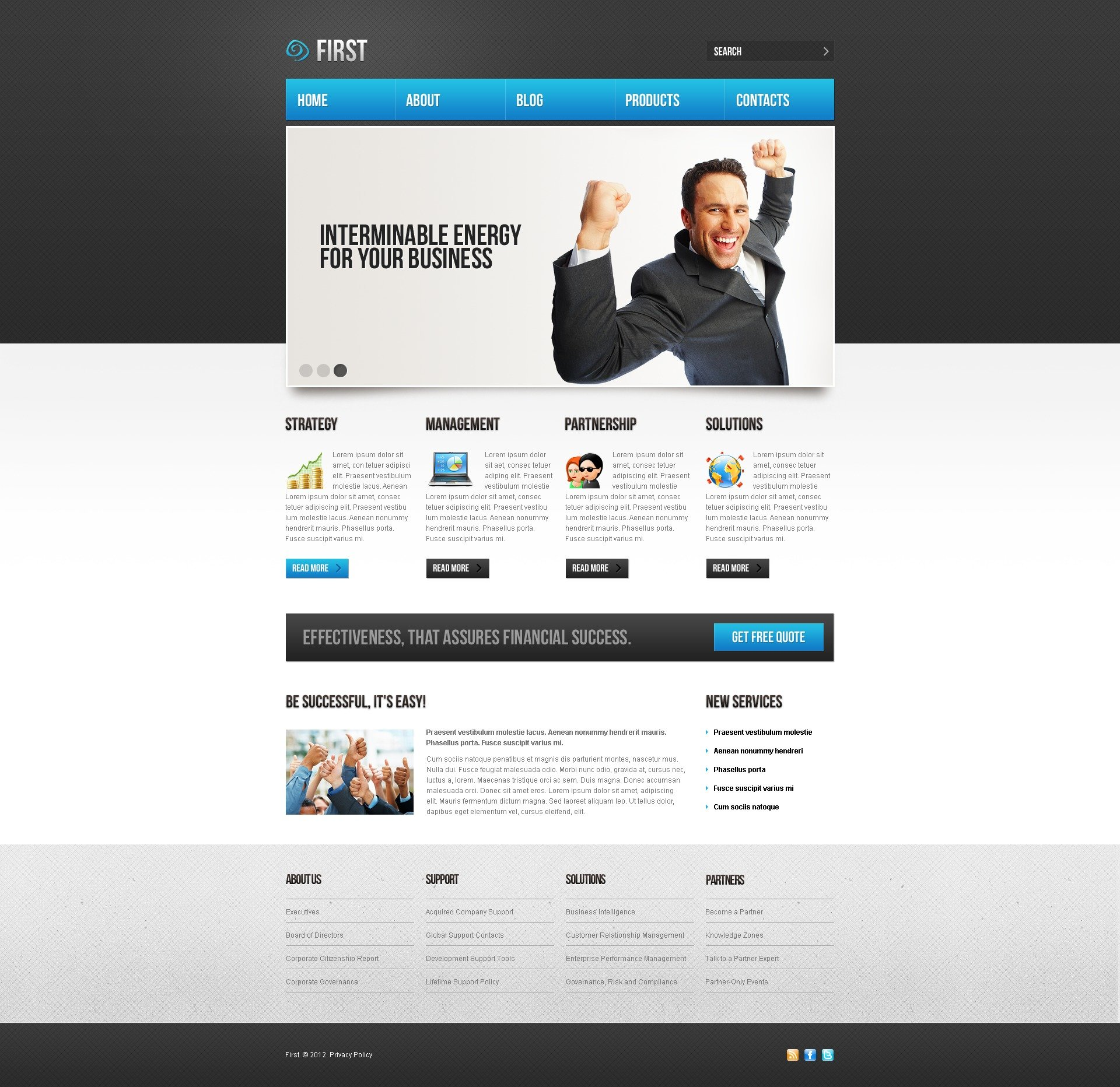 joomla administrator templates - business joomla template 37544