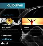 Web design Facebook Flash CMS  Template 37616