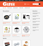 Gifts osCommerce  Template 37647