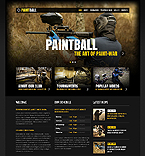 Sport Website  Template 37658