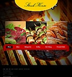 Cafe & Restaurant Website  Template 37662
