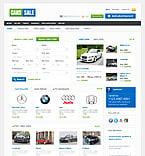 Cars PSD  Template 37666