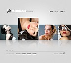 Art & Photography Flash CMS  Template 37677