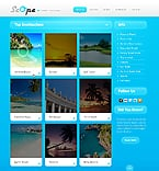 Travel Website  Template 37680