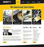 Security Website  Template 37698