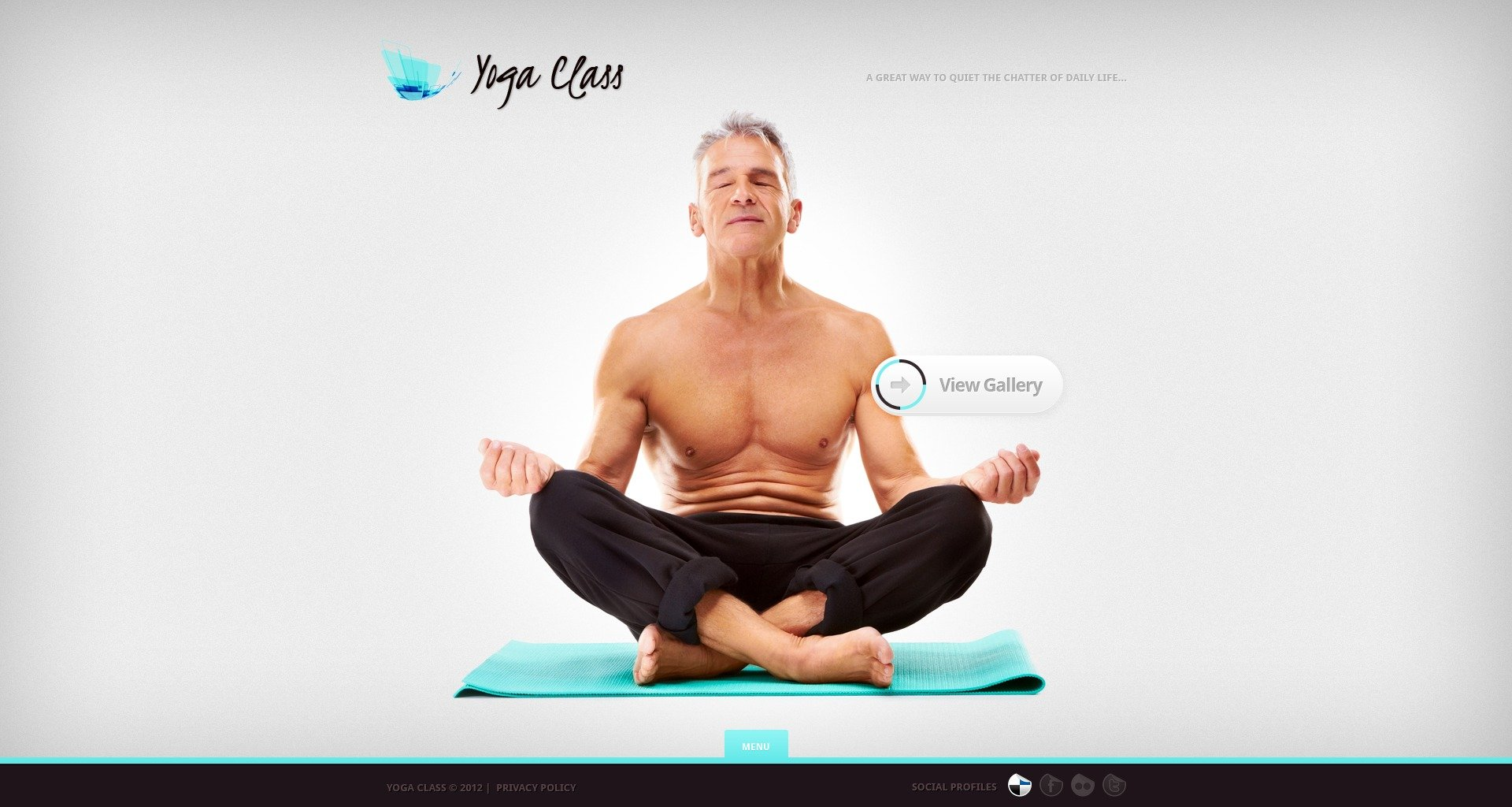 Yoga Website Template #37661