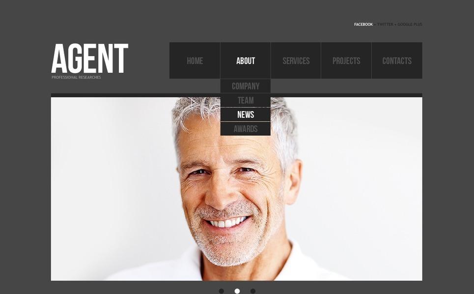 Drupal Vorlage für SEO Website  New Screenshots BIG