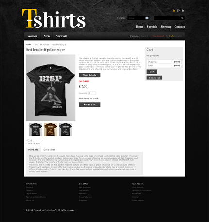 ADOBE Photoshop Template 37726 Home Page Screenshot