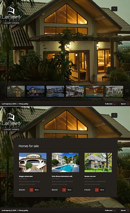 ADOBE Photoshop Template 37744 Home Page Screenshot