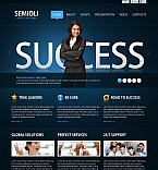 Flash CMS  Template 37751